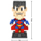 large plastic changeable high quality souvenir light up heroes creator nano building block