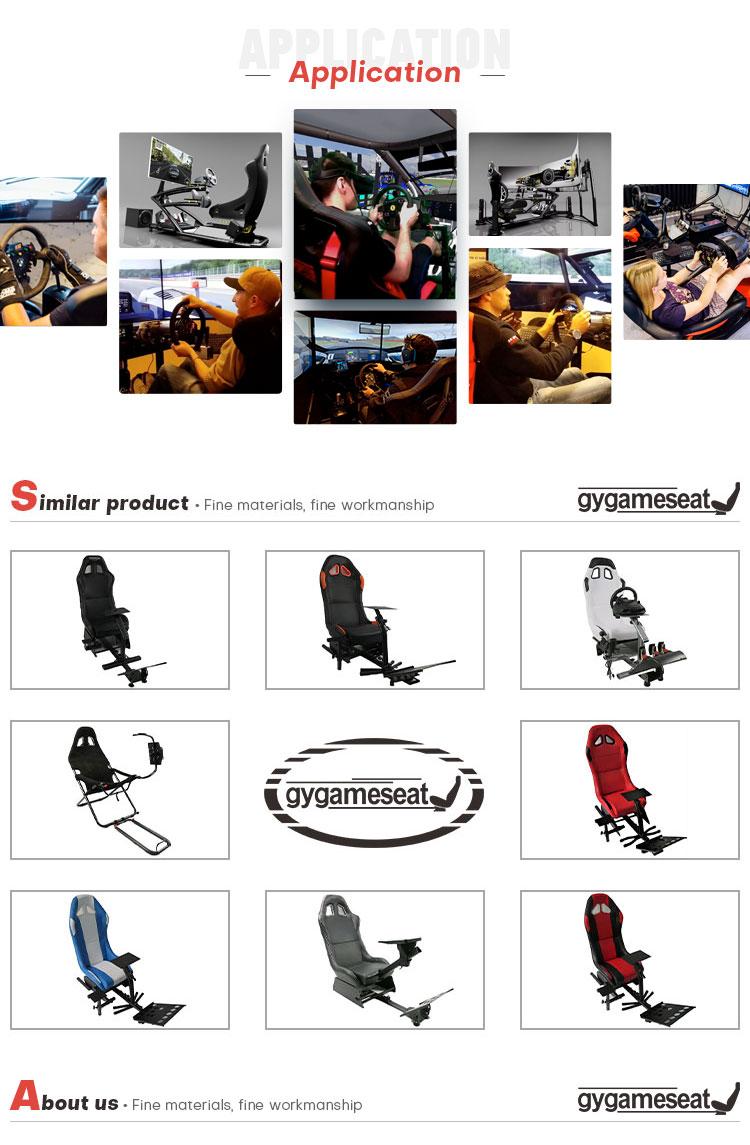 Nieuwe product game racing cockpit simulator seat voor Logitech G25 G27 G29 Xbox Ps4