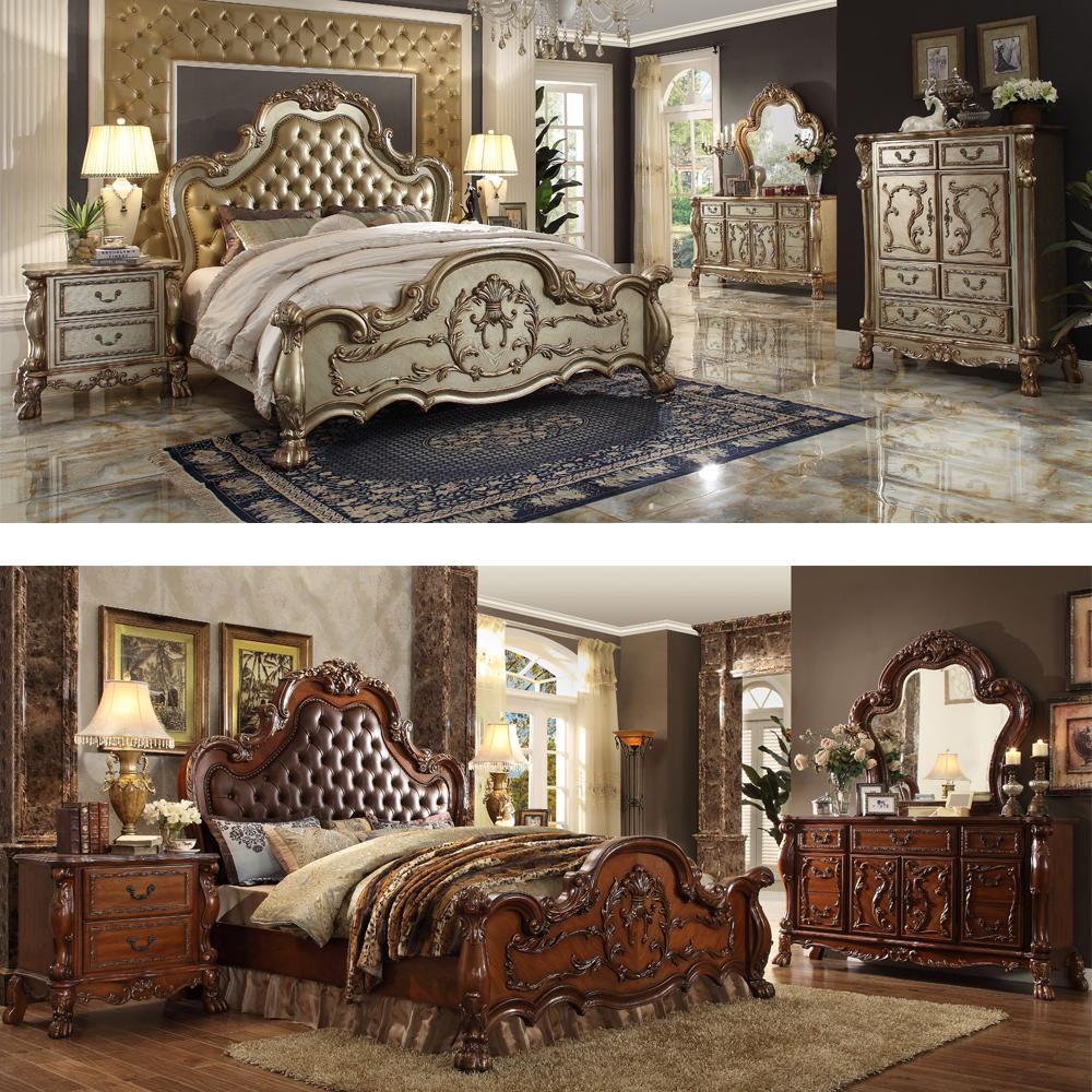 अमेरिकी आधुनिक शैली शाही फर्नीचर प्राचीन सितारा होटल बेडरूम सेट