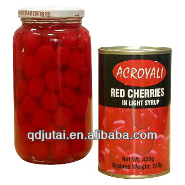 canned cherry pitted in syrup