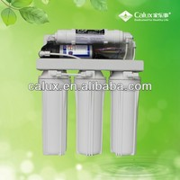 2014 hot sale home appliance 5/6/7 Use and under sink Reverse Osmosis Type with UV lamp water purifier