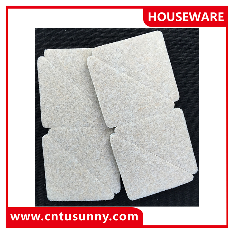Furniture protector felt pads felt glider 2016 new product