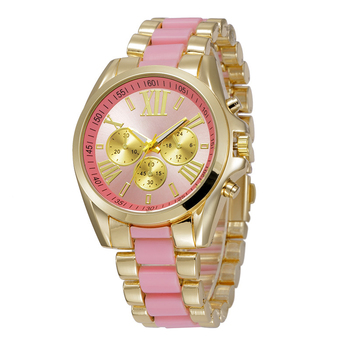 Brand New Gold Ceramic Watches Shell Water Resistant Rose Crystal Ladies Bracelet Watch women 2018 Ladies watches