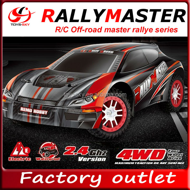 1/8 Scale 2.4Ghz 4WD Electric Brush Remote Control On-road Rally car