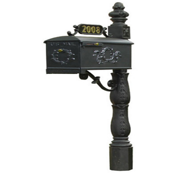 Cast Iron Decorative Antique Standing Mailbox Buy