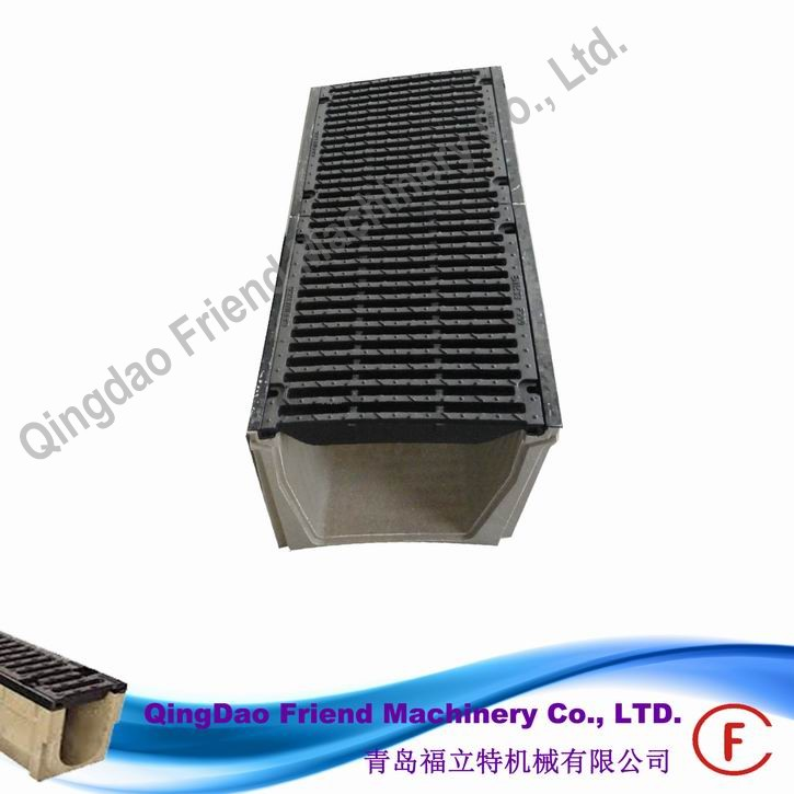 FM-G-EN1433 ductile iron grill and gratings over gutters, cast iron grate with kerb drainage