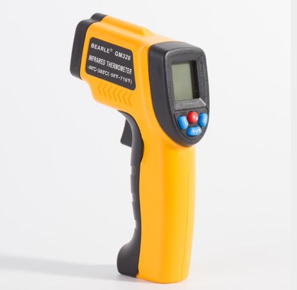 GM320 industrial portable temperature gun temperature range -50-380 handheld infrared thermometer - KingCare | KingCare.net
