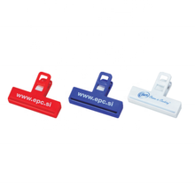 Hot selling stationaire 3 inch plastic bindmiddel clip voor promotie AB012