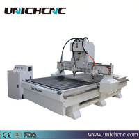 Fours spindles working together cnc router machine/wood cnc router/3 axis cnc machine