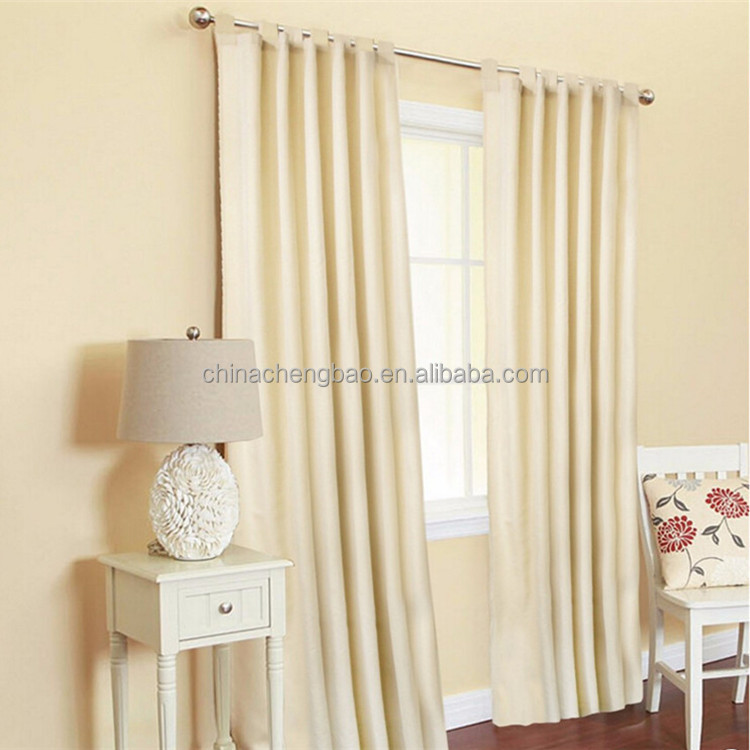 modern style hotel foil curtain for outside living room manual white curtains