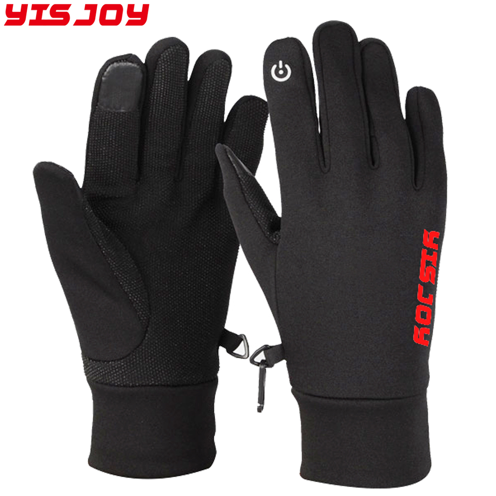 High quality touch screen running gloves quick dry soft nonslip jogging hiking trekking cycling bike gloves