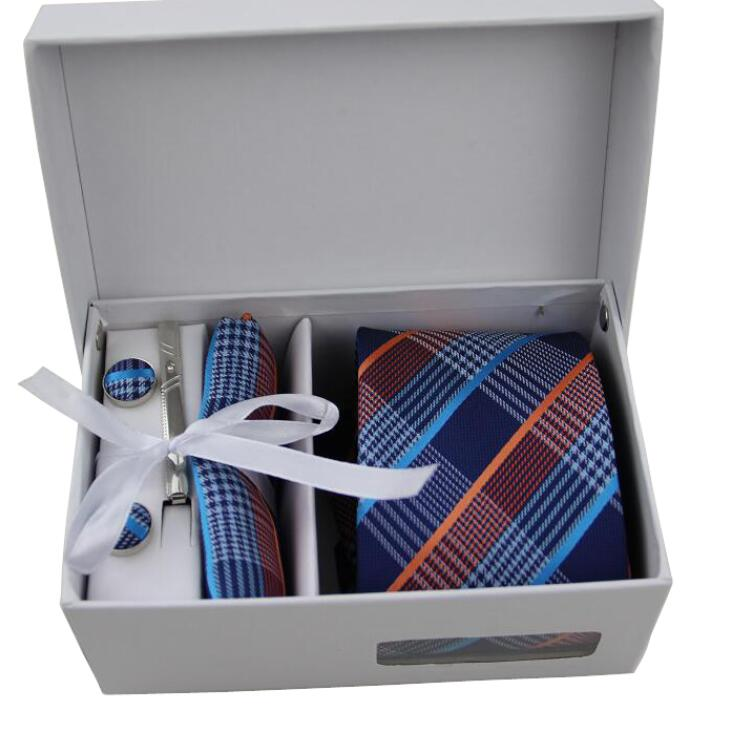 luxury new brand silk jacquard woven mens striped <strong>tie</strong>