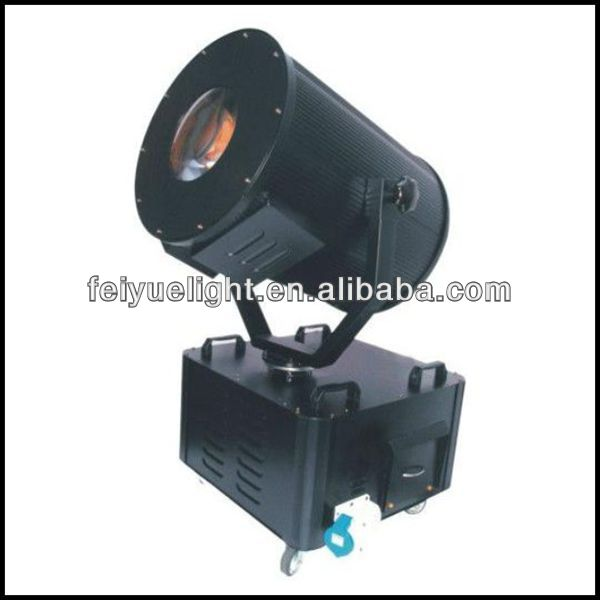 Professional Searchlights Outdoor Moving Head Discolor 3000w Sky Rose
