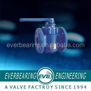 Flanged Eccentric plug valve made in China
