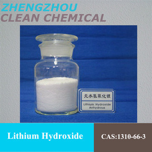 Factory price Lithium Hydroxide used for battery electrolyte additives