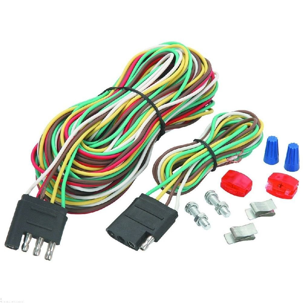 Cheap Small Trailer Kit Find Deals On Line At 16 Utility Wiring Harness Get Quotations 4four Way Connection Flat New Wire Towing Car