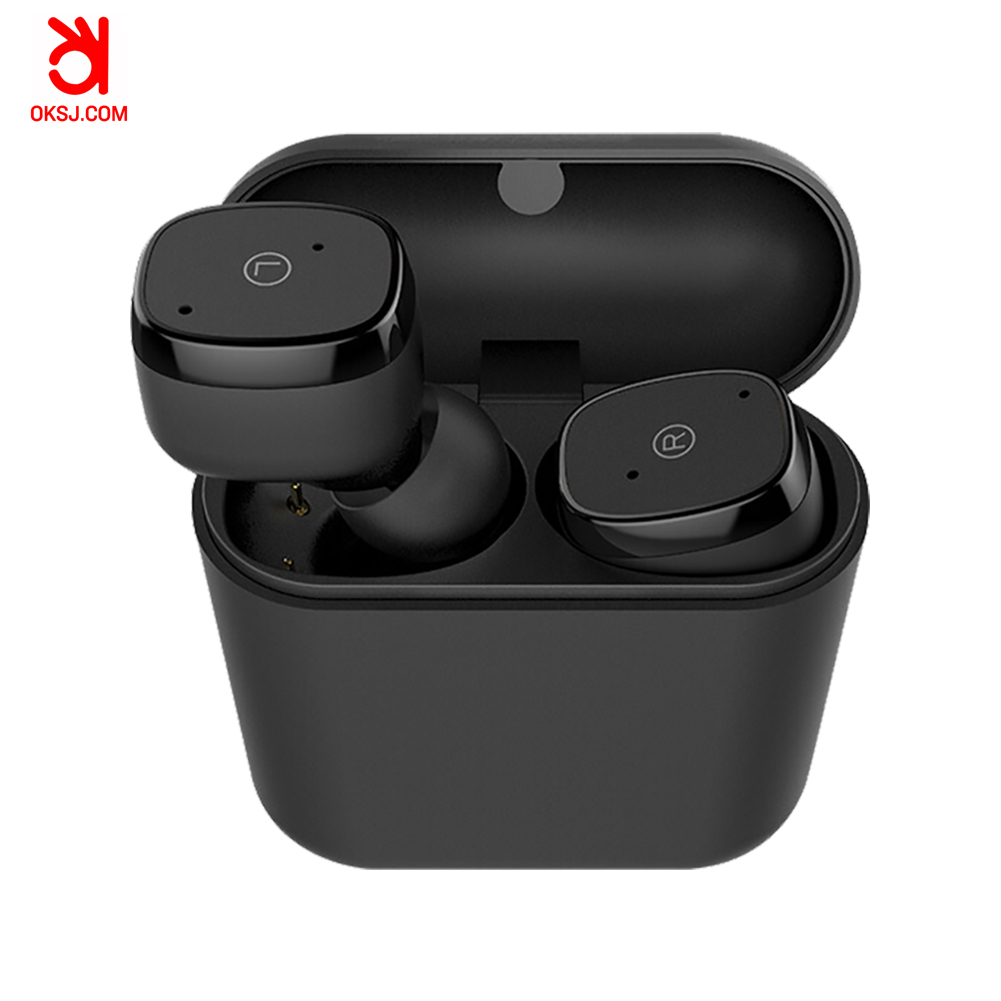 OKSJ D06 2019 Bluetooth Wireless Earbuds with charging box earphone earbuds for iphone for Samsung factory accept OEM фото