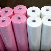Bulk cheap disposable white bed sheets for hotels and hospitals