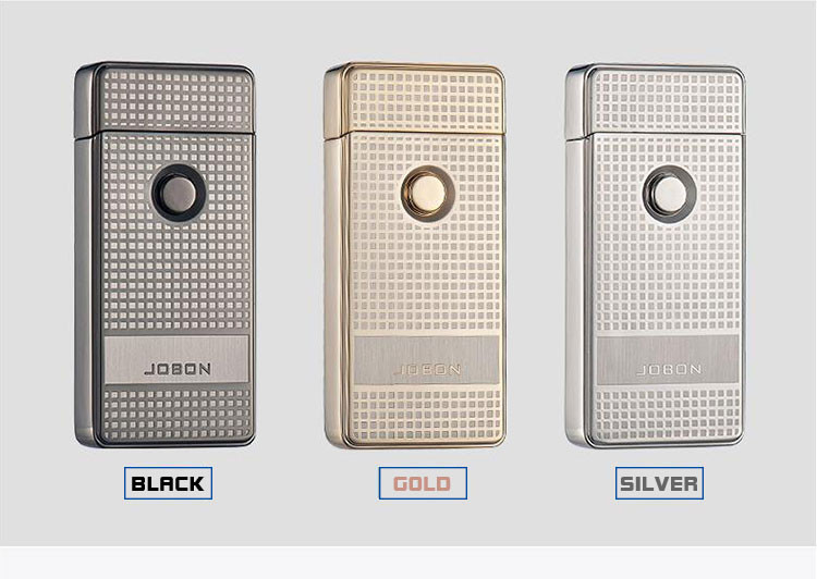 Jobon Dual Arc Usb Lighters Plasma Arc Ignition Lighters