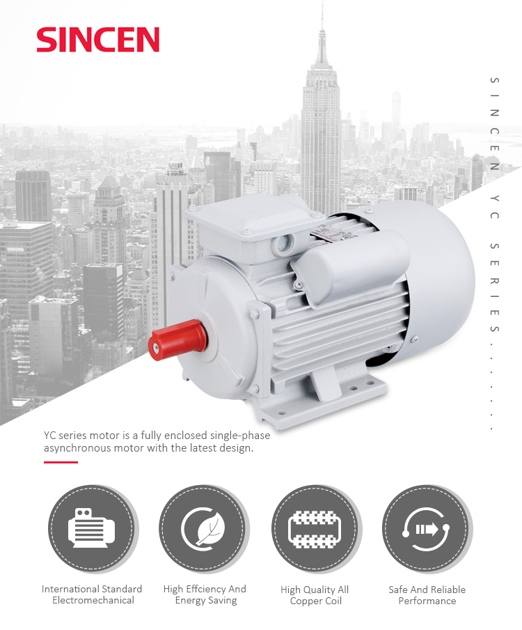 1 HP 5 HP 7.5hp Listrik Single Phase Induction Motor Harga