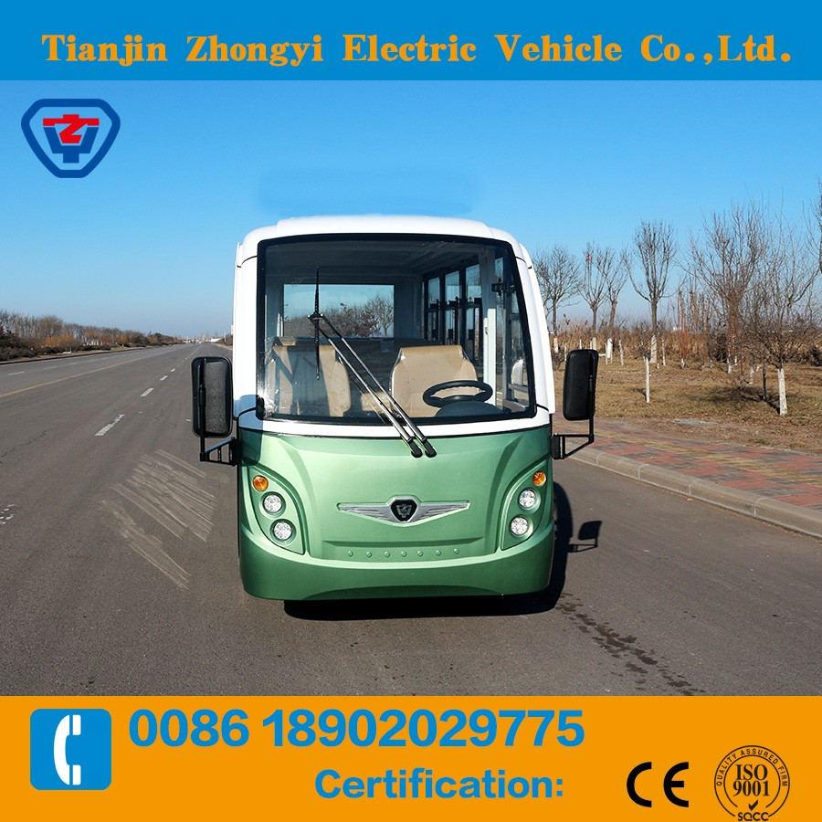 Hot sale 11 seats electric bus with CE certificate