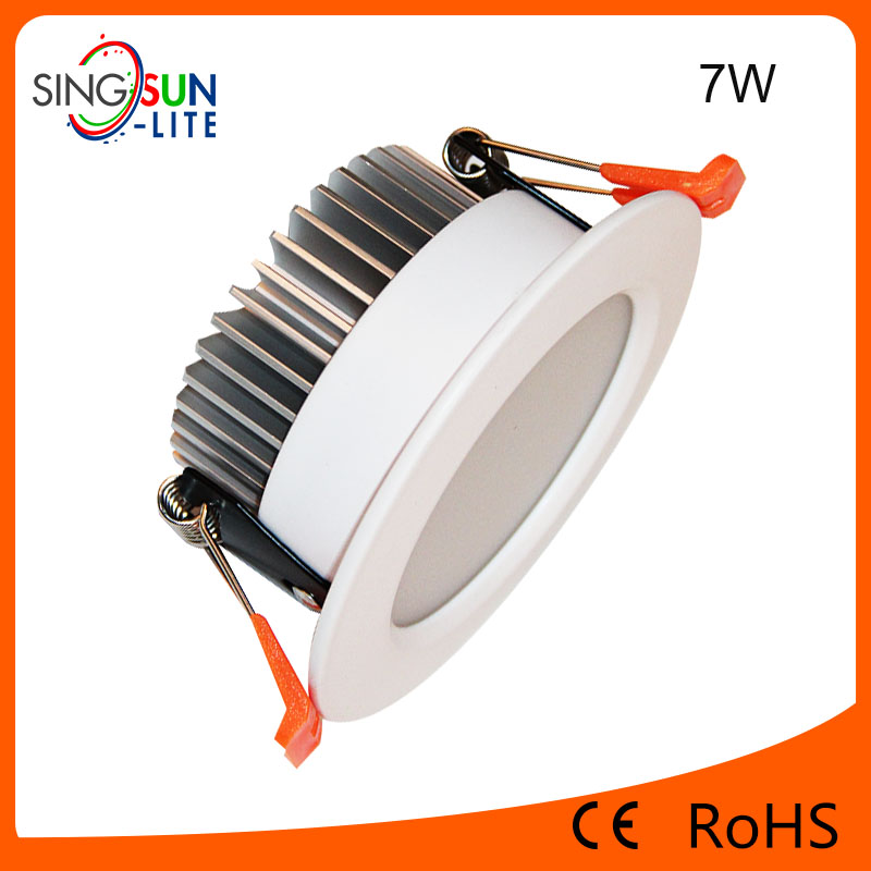hot new product super bright Epistar cob 5w 7w 9w 12w 15w 18w 24w downlight led professinal epistar 7w led downlight price