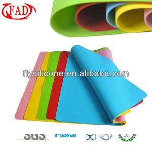 Table decoration high quality silicone mats/pads for baking and cooking decorative table mat placemat table pad