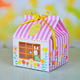 """Hop to it "" PVC window 4 cupcake boxes include of insert and tag"