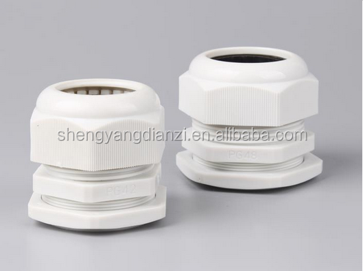 Double locked Brass metal wire Connector cable gland