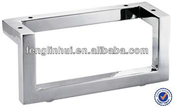 hochwertigem metall sofabein m bel edelstahl bein a737 buy product on. Black Bedroom Furniture Sets. Home Design Ideas