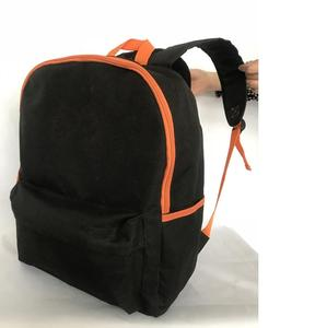 Large Capacity Eco 12oz Canvas Advertising Backpack With Adjustable Strap