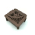 arabic OEM Factory Price wooden Wedding Sweet Candy Box/ flower shaped favor box