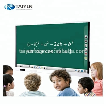 "86"" Educational equipment multi writing electronic portable smart interactive white board, touch screen interactive whiteboard"