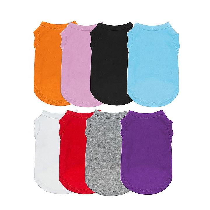 Wholesale Plain Pet Summer Clothes Dog Cat Tank Top T Shirt - Buy Dog T  Shirt,Dog Shirt,Dog T-shirts Plain Product on Alibaba.com