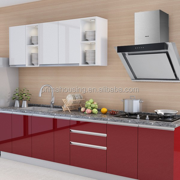 Kitchen Cabinet Materials: UV Modern Cheap Kitchen Cabinet, View Cheap Kitchen