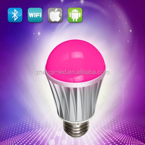 5W CCT E14 fut011 smart 2.4G RF remote wifi wireless dimmerable 360 degree system cooled led bulb