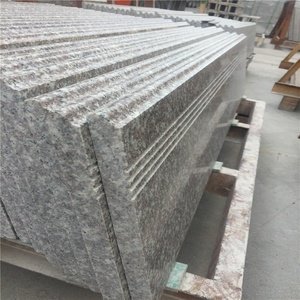 Chinese granite step stair custom for interior and exterior construction