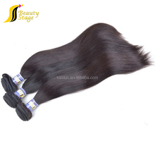 Full cuticle without chemical processed virgin human hair silky straight aliexpress human hair ponytail