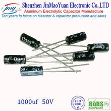 1000uF 50V Aluminum Electrolytic Capacitor