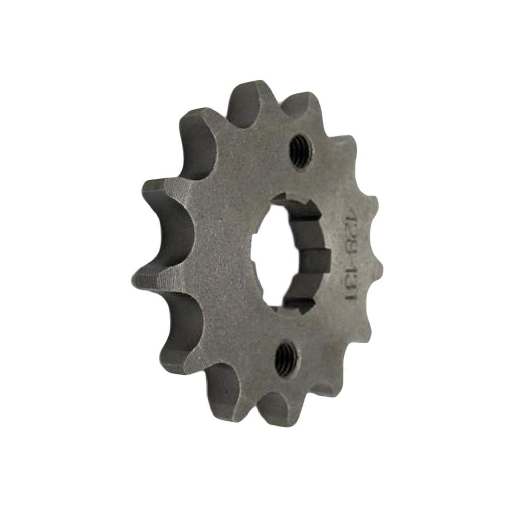 Baosity Chain 428 12 Tooth Front Engine Sprocket Dirt Pit Bike ATV Moped 20mm Shaft