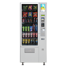 2017 Best Price Snacks and Beverages Combo Vending Machine with Touch Screen
