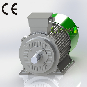 10KW 3000RPM Low Rpm 3 Phase AC Synchronous Permanent Magnet Generator/Alternator for wind and hydro energy