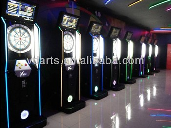 Electronic Dart Machine With Coin Operated And Card Reader