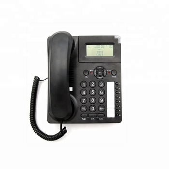 New Arrival Private Mould 2-Line Corded Office Phone with Caller ID Function Manufacturer