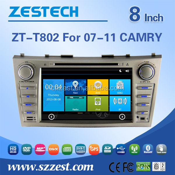 2 din 7 inch <strong>car</strong> dvd player For <strong>TOYOTA</strong> 2007-2011 CAMRY support Radio/Audio/GPS/DVD/RDS/Bluetooth/MP4 player/HDMI