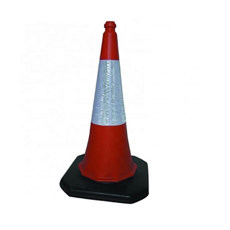 """3 nova 18 """"Cones de Segurança De Tráfego Construção Reflexiva Laranja Grande Corpo Esportes"""