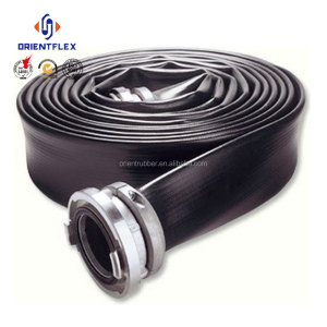 High pressure Black TPU Layflat Water hoses for irrigation