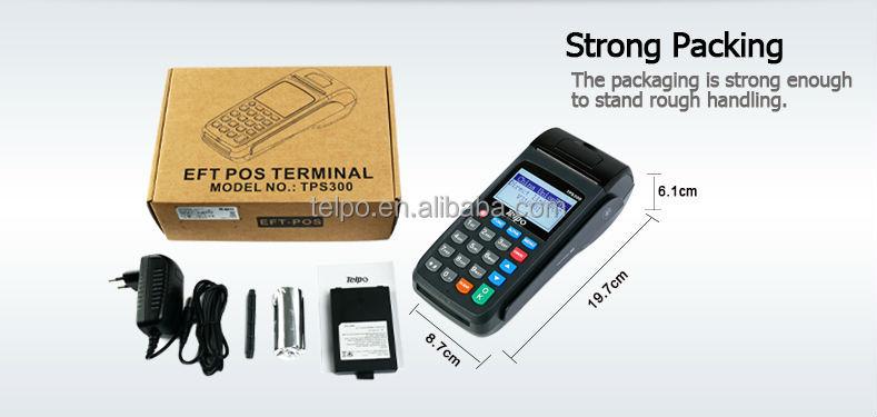 2014 Telpo Tps300 Lcd Thermal Print Money Transfer Gprs