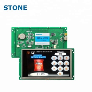 Touch Screen LCD Display Module Usb Interface Module Rs232 Display