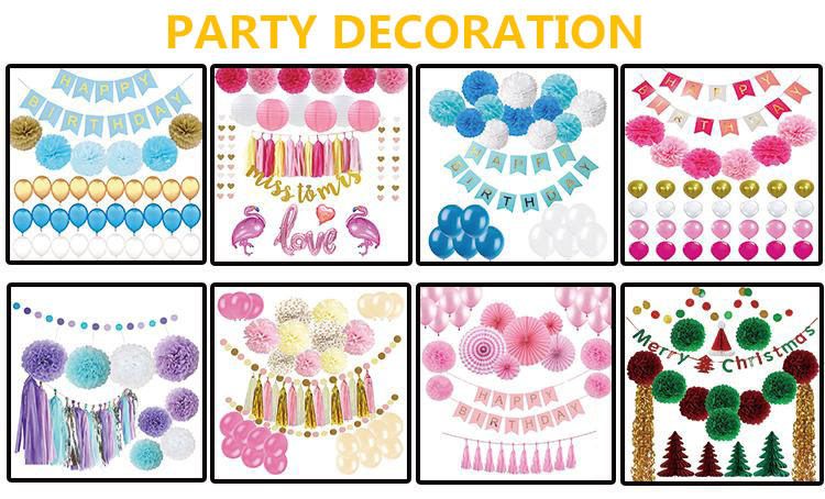 12/36Inch Black Baby Shower Party Decorations Supplies Gender Reveal Balloons